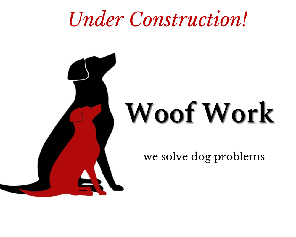 Woof Work Logo - Your dog and you